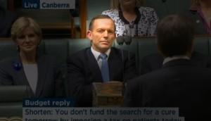 Abbott produces his coup de grâce