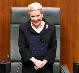 Speaker Bronwyn Bishop: unbiased
