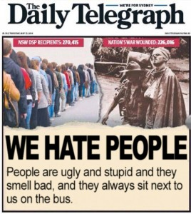 The Daily Telegraph opens up